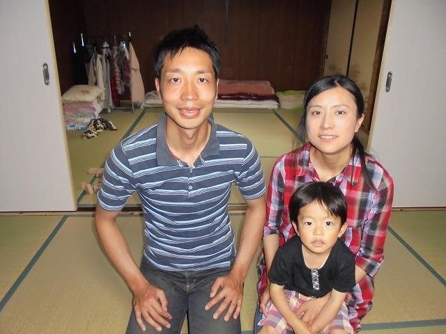 岩田さんご家族